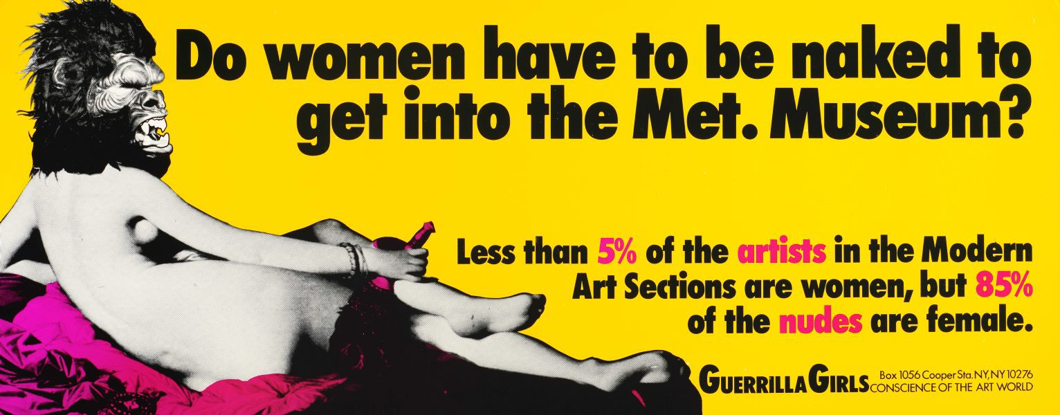 Image result for Guerrilla Girls Portfolio Compleat 1985–2012 + Upgrade 2012–2016