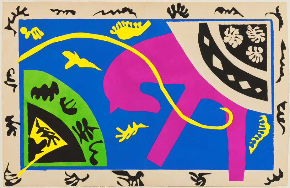 Henri Matisse, The horse, the rider and the clown, from the illustrated book Jazz