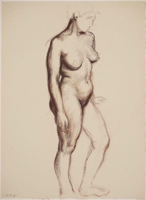 Samir rawas sarayji's review of standing female nude