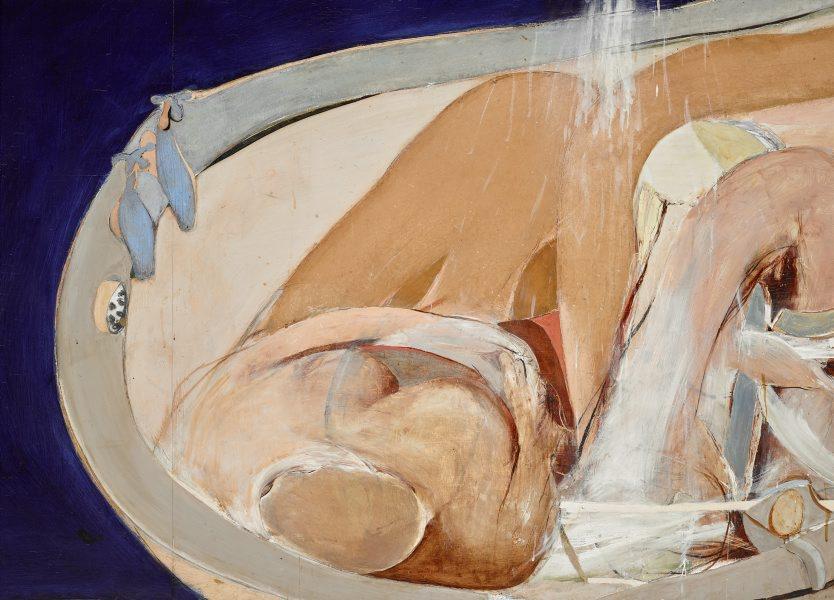Alternate Image Of Woman In Bath By Brett Whiteley