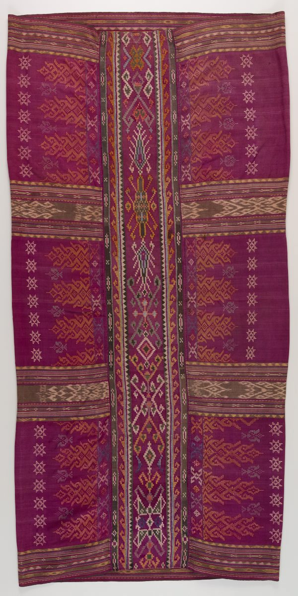Enclosed skirt (malong a andon), (20th century) by Maranao :: The ...