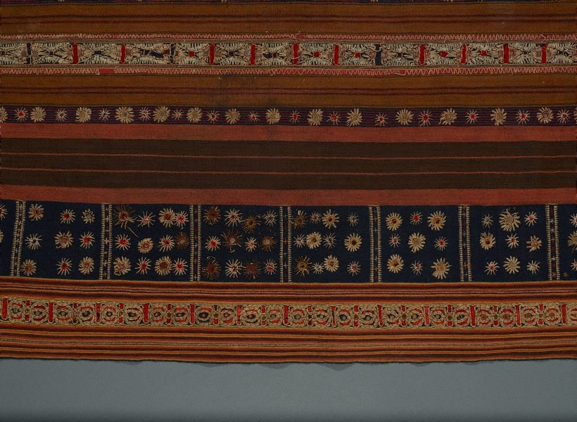Tapis Kaca Skirt Cloth Circa 1900 The Collection Art