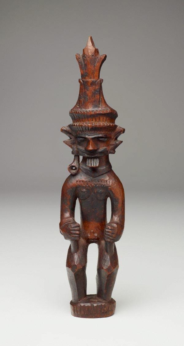 Voorouder beeld Adu Zatua - Nias - Indonesië   Indonesië