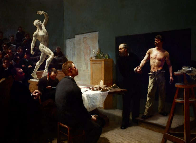 The Anatomy Class At The Cole Des Beaux Arts 1888 By Franois