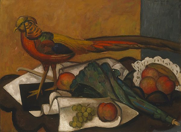 Golden pheasant, (1932) by Mark Gertler :: The Collection :: Art