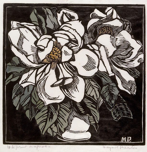 Magnolia Circa 1932 By Margaret Preston The Collection Art