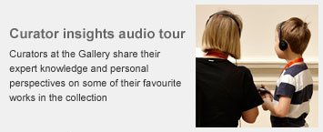 Curator insights audio tour