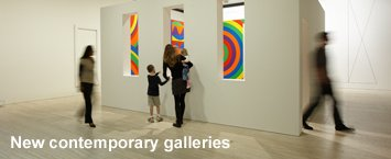 New contemporary galleries