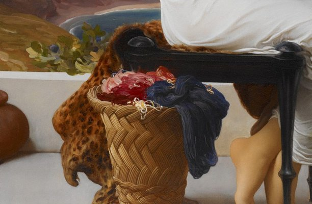 Alternate image of Winding the skein by Lord Frederic Leighton
