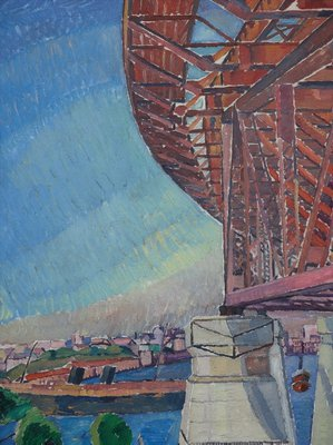 Alternate image of The curve of the bridge by Grace Cossington Smith