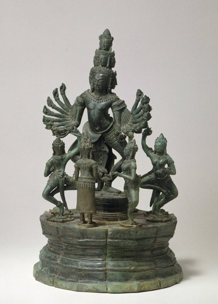An image of Hevajra mandala by