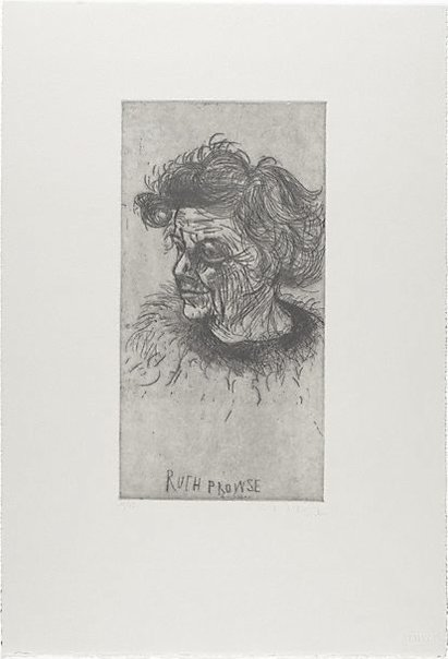 An image of Ruth Prowse by Kevin Lincoln