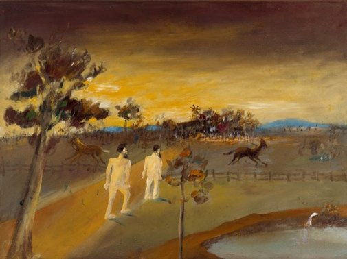 An image of Robbed by Sidney Nolan