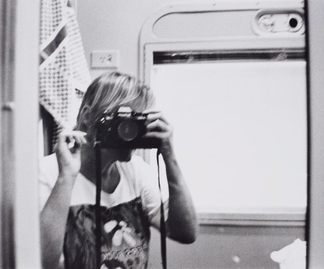 An image of Self-portrait with camera (1960-2006)