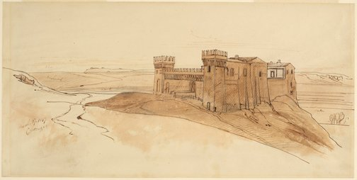 An image of Crescenza by Edward Lear