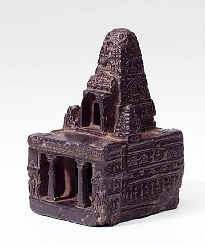 An image of Model of the temple at Bodhgaya by