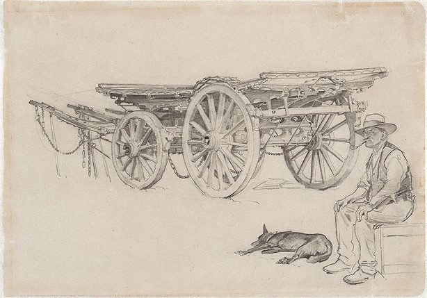 An image of The wool wagon