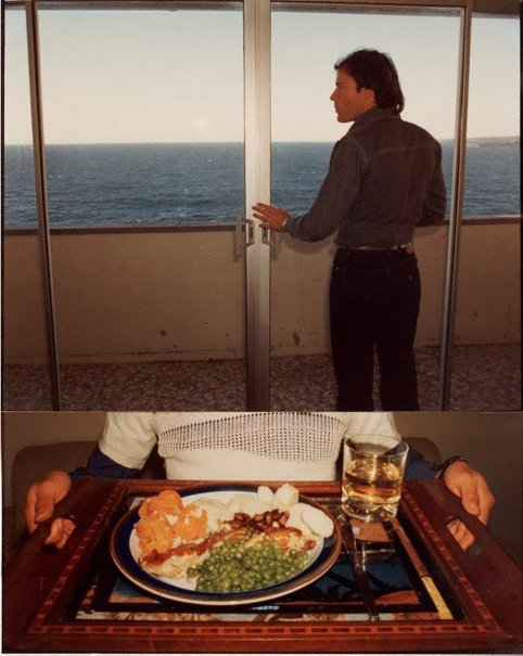 An image of Bondi delicious (Portrait of Jim Sharman) by William Yang