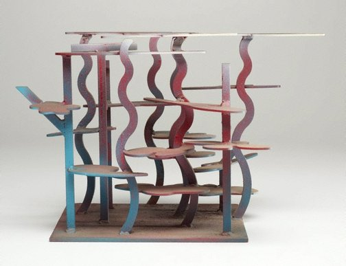 An image of To do with the blue maquette by Tony Coleing