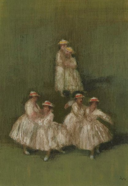 An image of Waltz of the bowling ladies by Desmond Digby