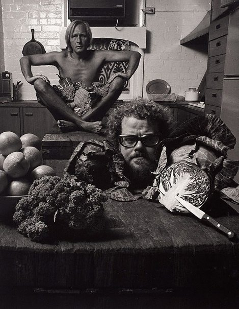An image of Ben Eriksson and Rodney Weidland, photographers, Sydney by Lewis Morley