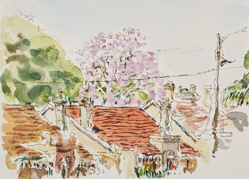 An image of Jacaranda, Lewisham by Tom Carment