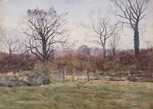 An image of Bromham Park by Arthur Anderson Fraser