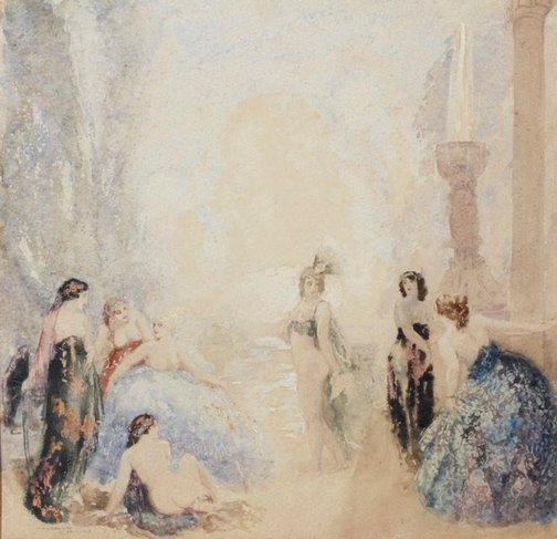 An image of Garden of felicity by Norman Lindsay