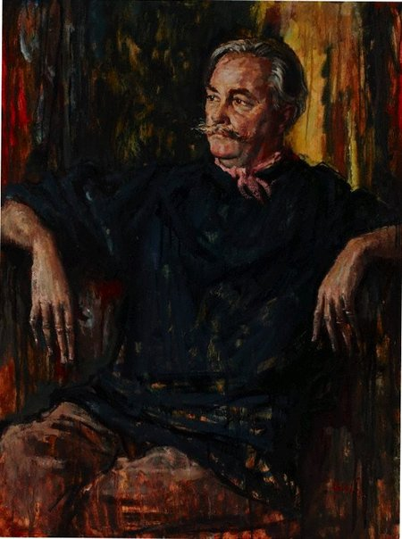An image of Portrait of Douglas Watson by Charles Bush