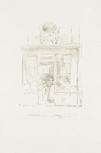 An image of The Laundress by James Abbott McNeill Whistler