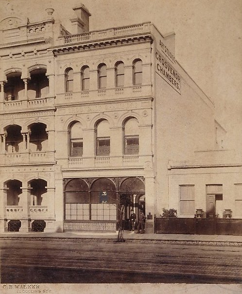 An image of Untitled (Grosvenor Chambers, Melbourne) by CB Walker Studio