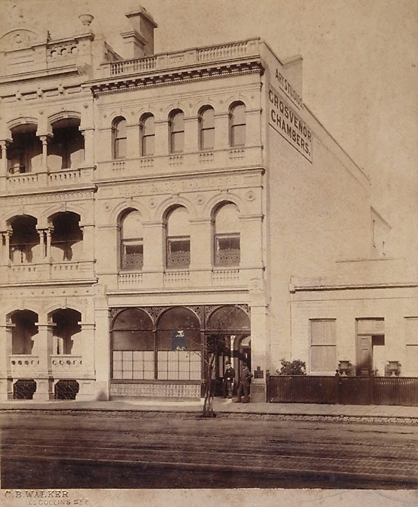 An image of Untitled (Grosvenor Chambers, Melbourne)
