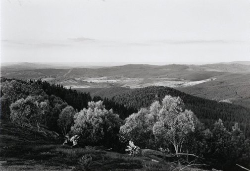 An image of View west from Tumorrama Mountain, Bondo State Forest by Peter Elliston