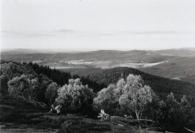 An image of View west from Tumorrama Mountain, Bondo State Forest