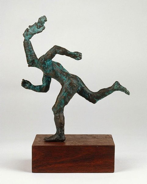 An image of Running figure by Geoffrey Ricardo