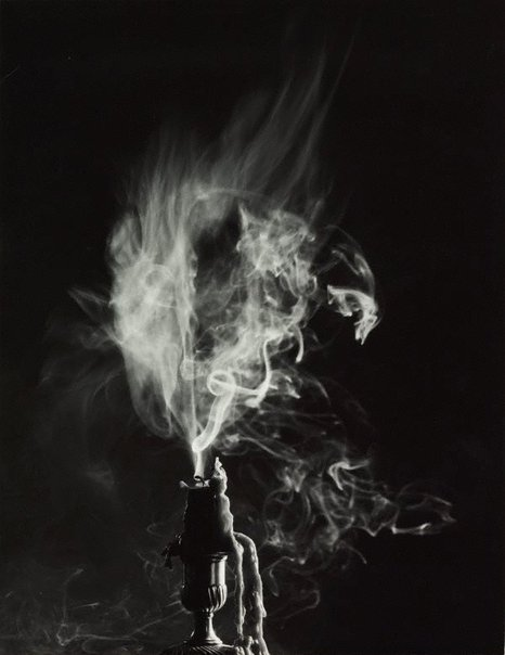 An image of Untitled (snuffed candle II) by Max Dupain