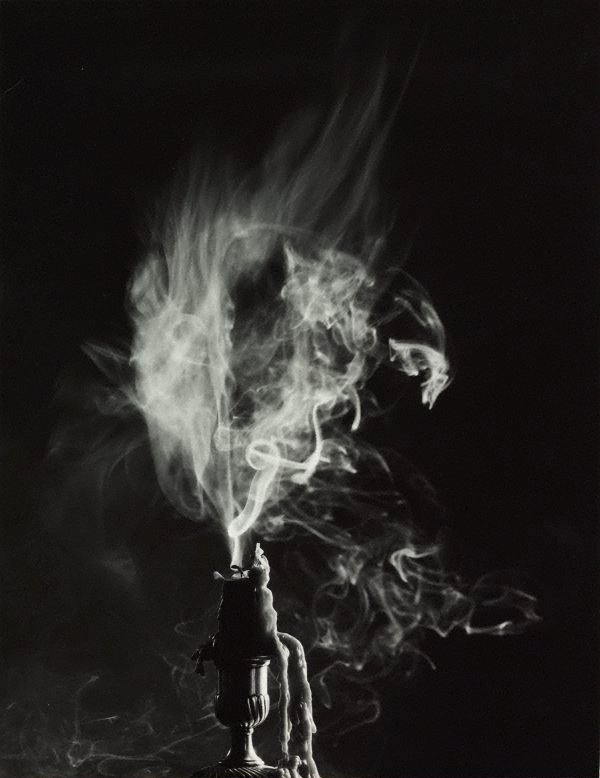 An image of Untitled (snuffed candle II)