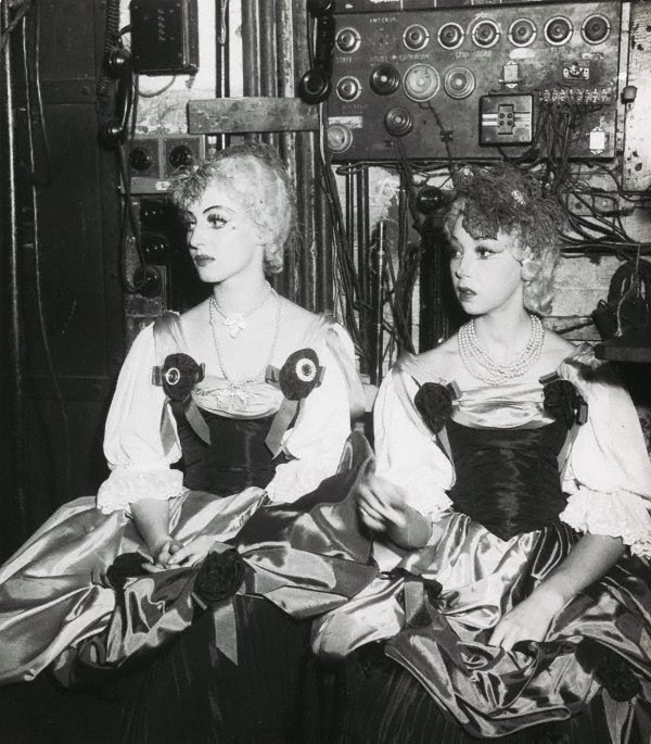 An image of Untitled (in costume backstage)