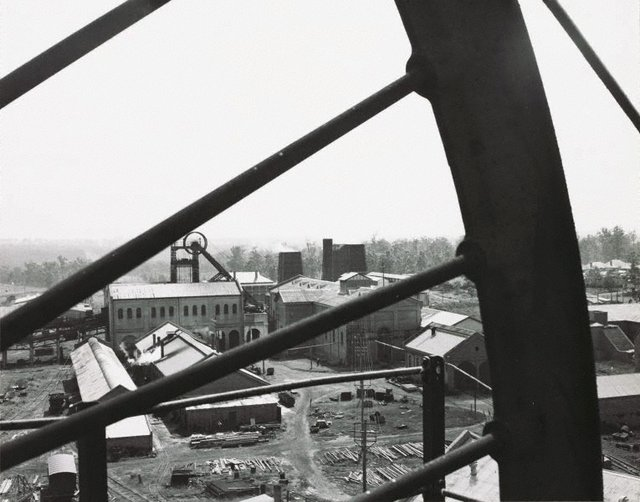 An image of Untitled (overlooking a factory)