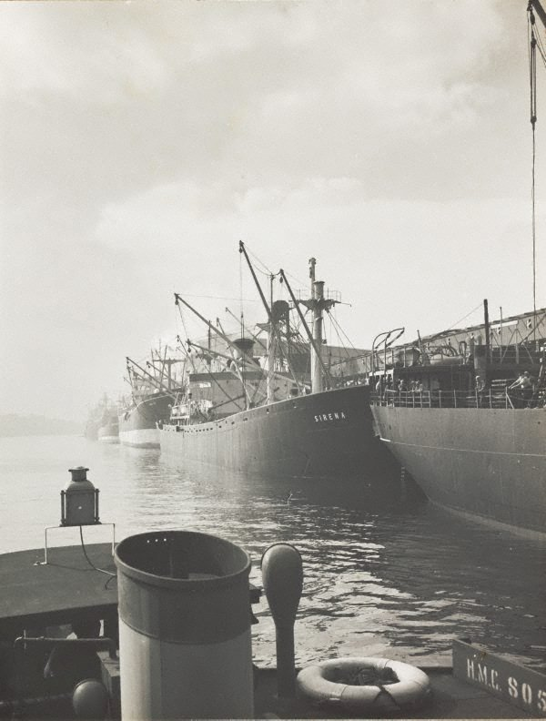 An image of Untitled (Sirena in port)