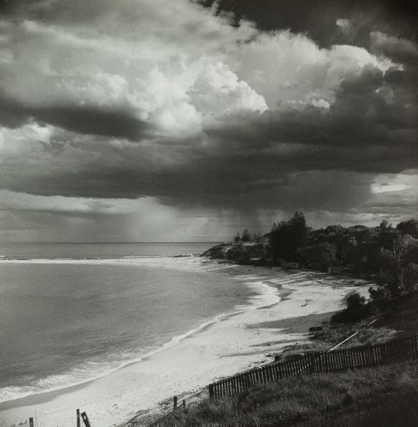 An image of Untitled (beach with thunderstorm)