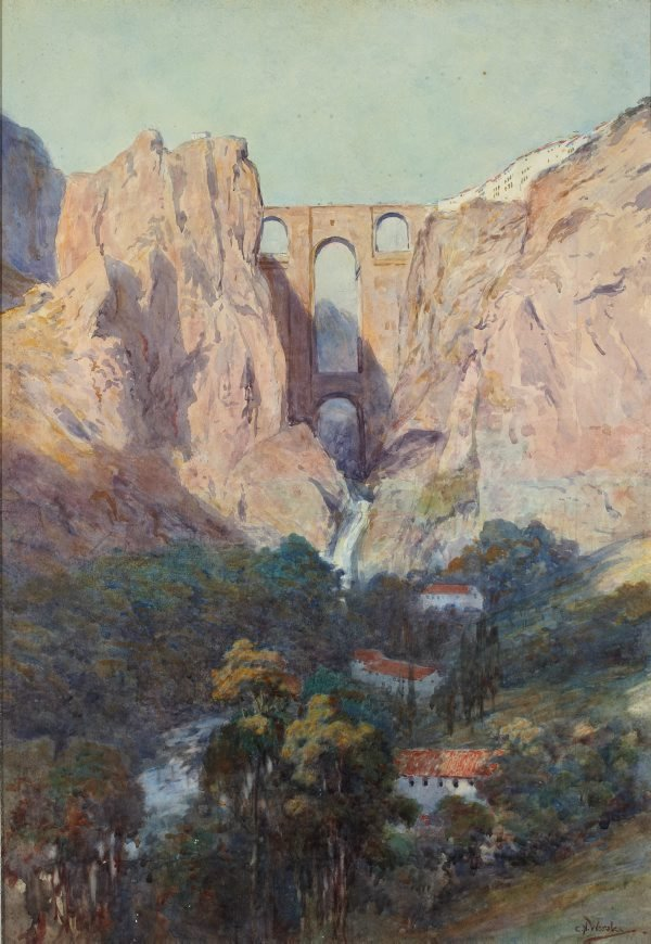 An image of Ronda Gorge, Spain