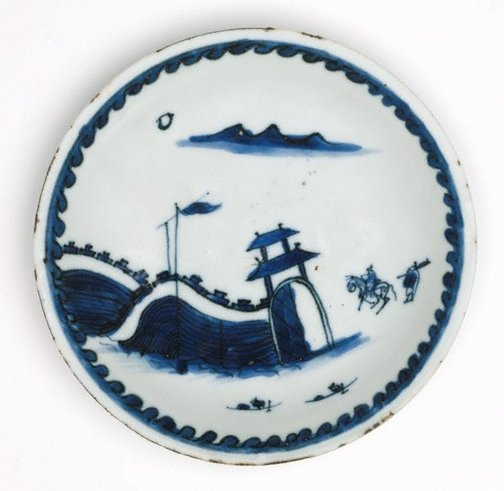An image of Dish (landscape with moon) by