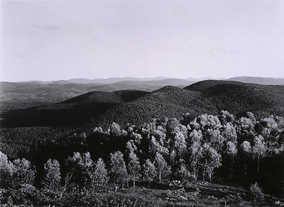 An image of View south-east from Tumorrama Mountain, Bondo State Forest