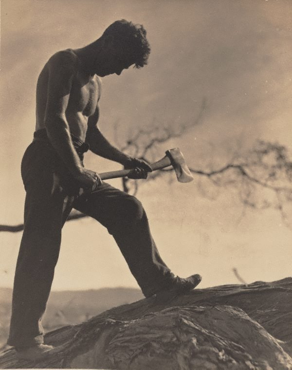 An image of Untitled (Man with axe)