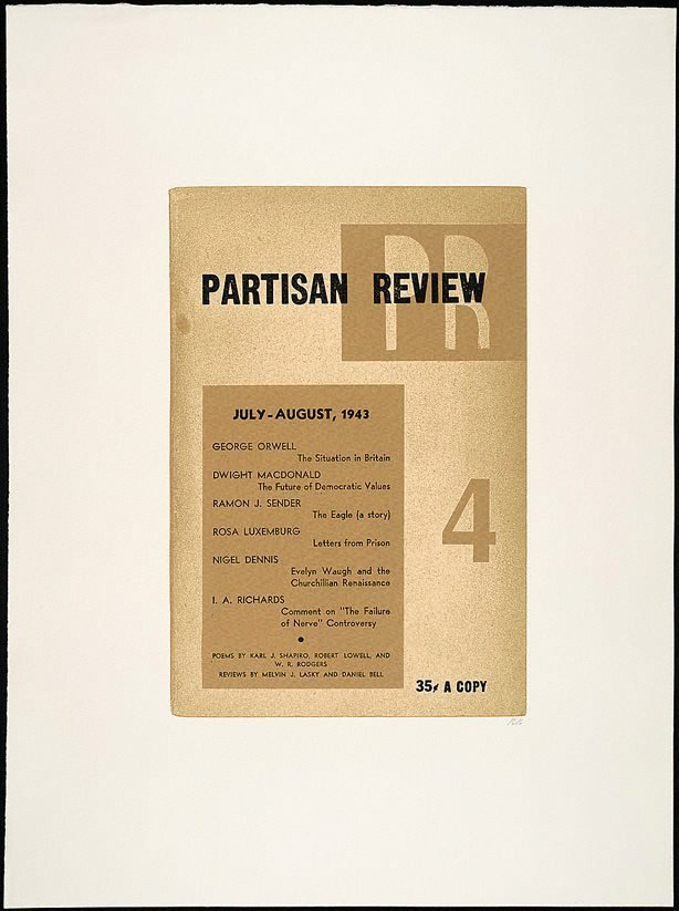 An image of Partisan review