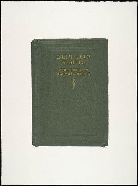 An image of Zeppelin nights by R.B. Kitaj