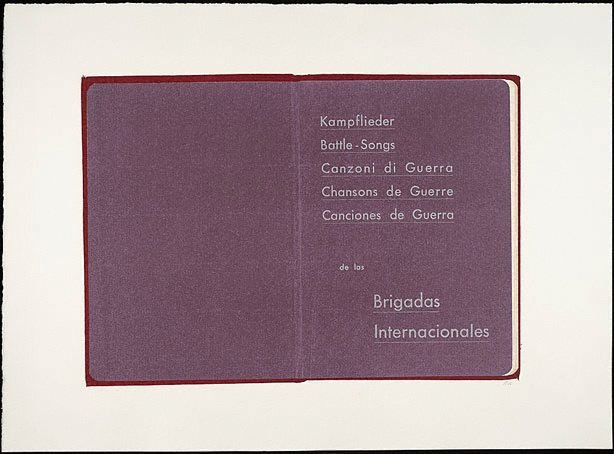 An image of Kampflieder: Battle songs: Canzoni di Guerra