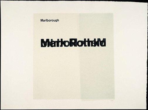 An image of Marlborough (Mark Rothko) by R.B. Kitaj