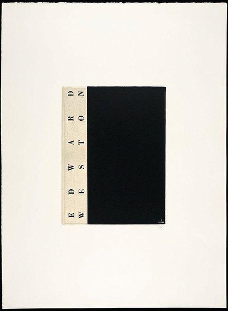 An image of Edward Weston by R.B. Kitaj
